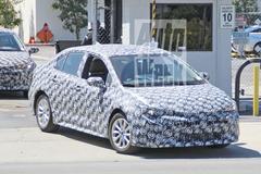 Gesnapt: nieuwe Toyota Corolla
