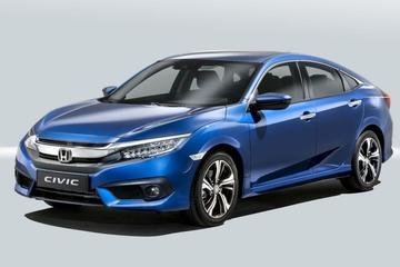 Honda Civic sedan in Europese trim