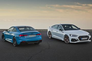 Audi facelift de RS 5 Coupé en Sportback