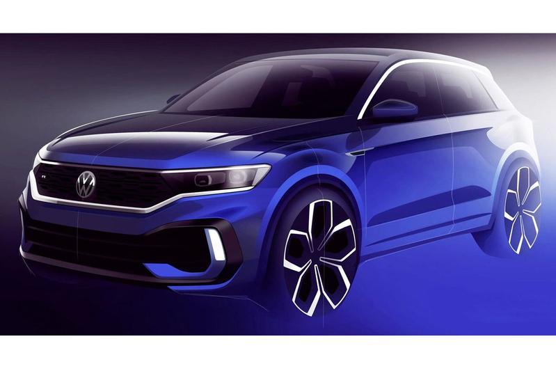 Volkswagen T-Roc R schets