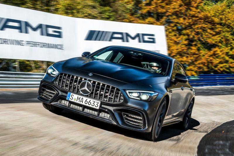 Mercedes-AMG GT 4-Door sleept 'Ringrecord' binnen
