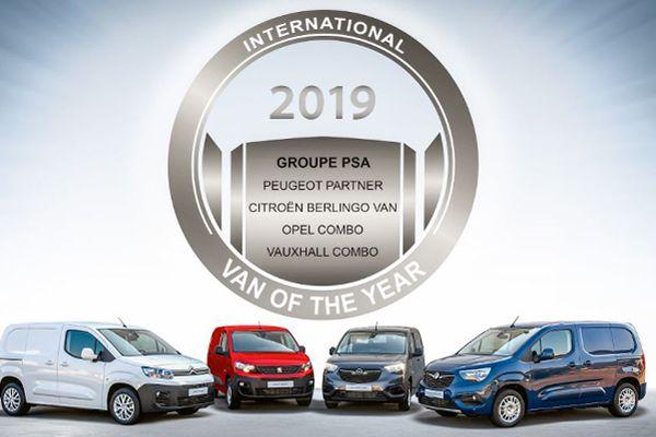 PSA-drieling is International Van of the Year
