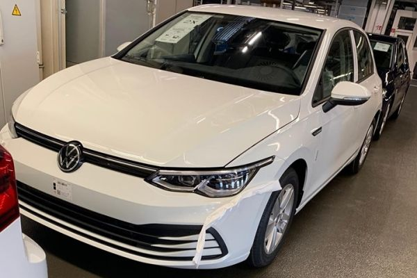 Volkswagen Golf wederom gelekt