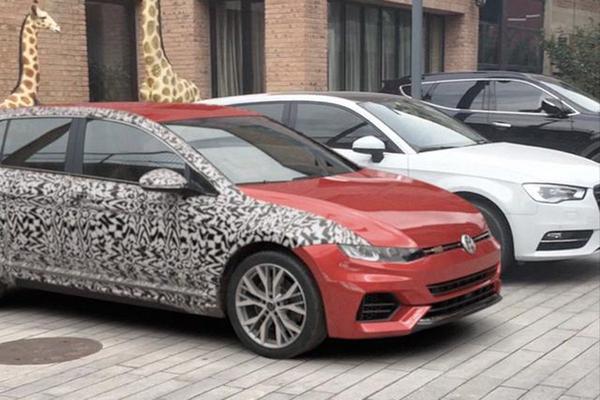 Mysterieuze Volkswagen Golf duikt op
