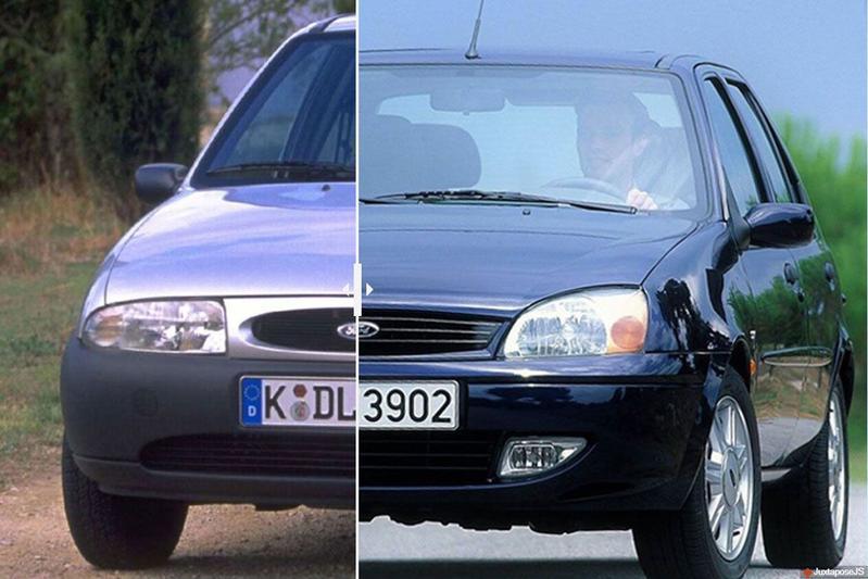 Facelift Friday: Ford Fiesta/Mazda 121