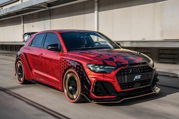 Abt creëert krankzinnige Audi A1