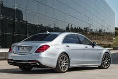 Mercedes S 560 e: plug-in hybrid-limo