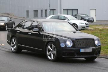 Bentley Mulsanne ondergaat facelift