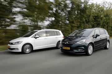 Opel Zafira vs. Volkswagen Touran