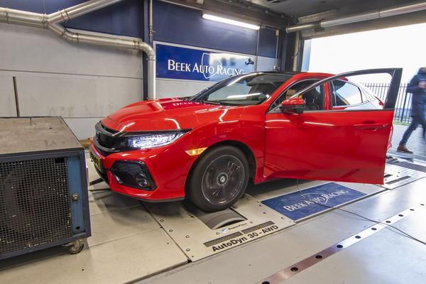 Honda Civic 1.0Turbo i-VTEC - Op de Rollenbank
