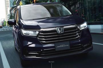 Vernieuwde Honda Odyssey in beeld