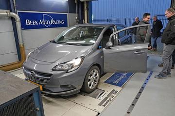 Opel Corsa 1.0 Turbo - Op de Rollenbank