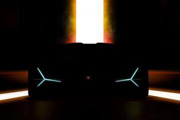Lamborghini teast IAA-debutant