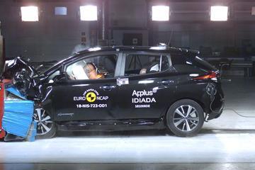 Nissan Leaf verdient vijf veiligheidssterren