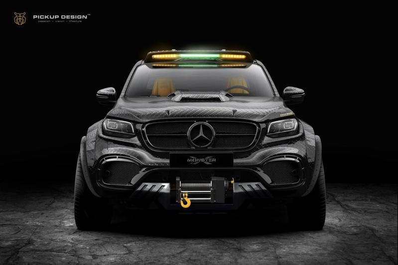 Carlex Design Mercedes-Benz X-klasse Monster X