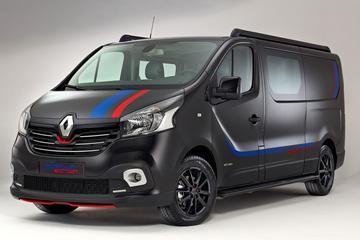 Renault Trafic met sportieve hobby