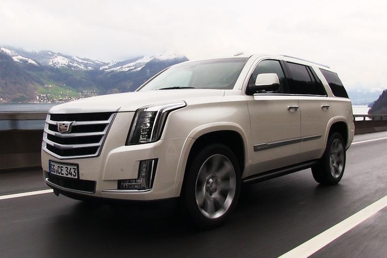 Rij-impressie Cadillac Escalade