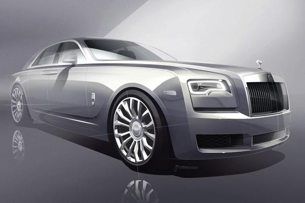Rolls-Royce komt met Silver Ghost Collection
