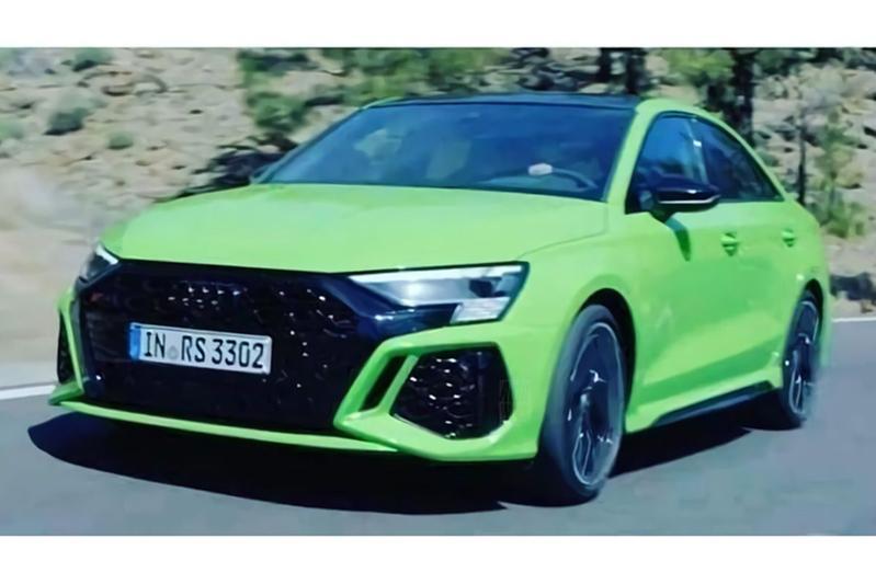 Audi RS3 Limousine gelekt