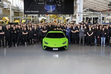 Productiemijlpaal voor Lamborghini Huracán