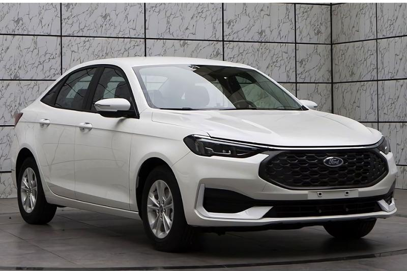 Ford Escort facelift 2021 China