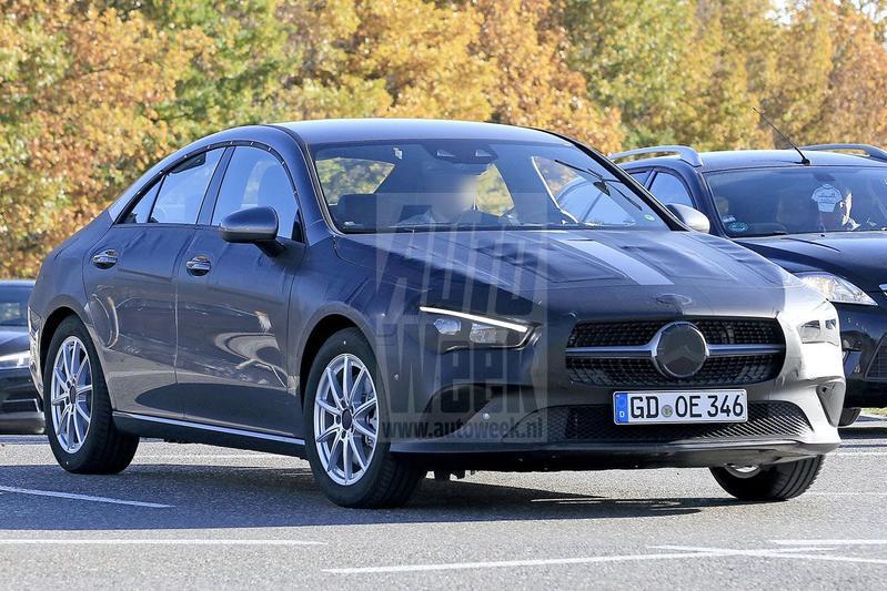 Mercedes-Benz CLA spyshots
