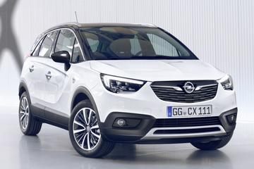 Opel hangt prijskaartje aan Crossland X