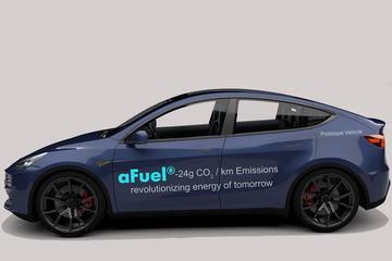 Tesla Model Y als... hybride