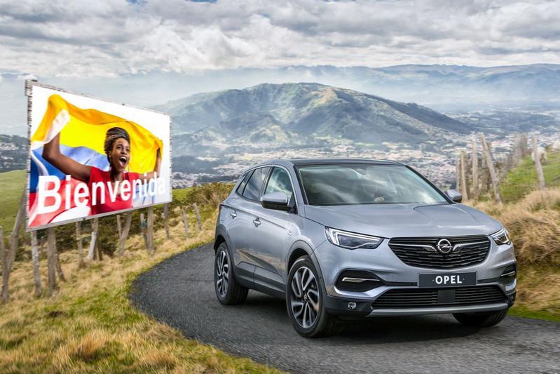Opel Grandland X Zuid-Amerika