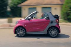 Smart Fortwo cabrio Electric Drive - Rij-impressie