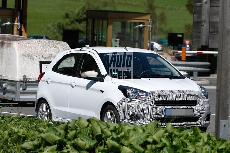 Ford test 'nieuwe Ka' in Europa