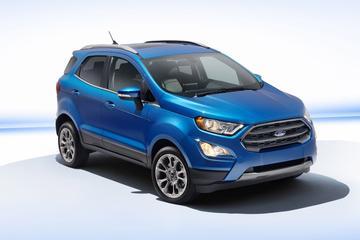 Dít is de gefacelifte Ford Ecosport!
