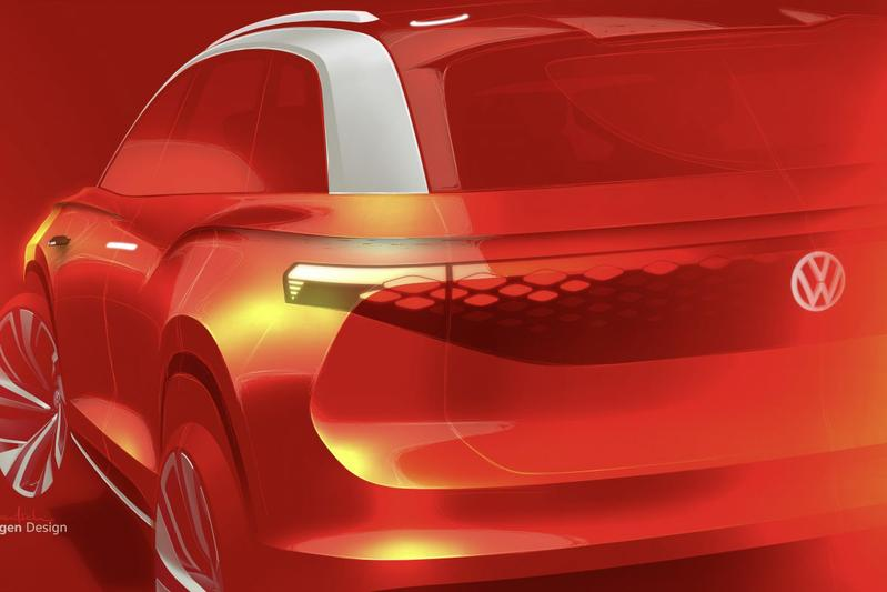 Volkswagen I.D. Roomzz teaser