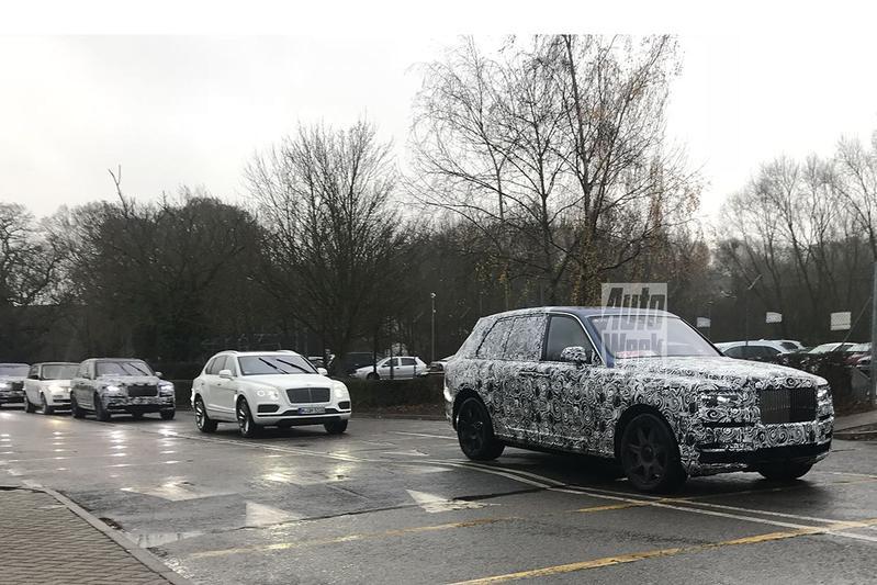 Rolls-Royce Project Cullinan duikt weer op