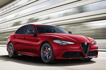 Extra dikke Alfa Romeo Giulia Veloce