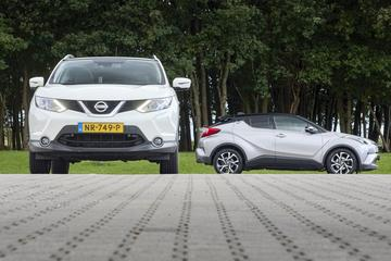 Nissan Qashqai vs. Toyota C-HR - Occasion dubbeltest