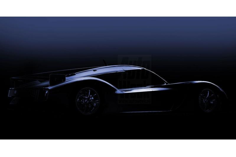 Toyota Gazoo Racing teaset GR Super Sport Concept