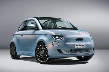 Officieel: nieuwe Fiat 500E