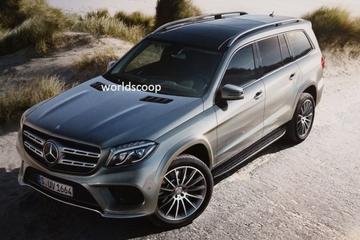 Ook voorkant Mercedes GLS in vol ornaat gelekt