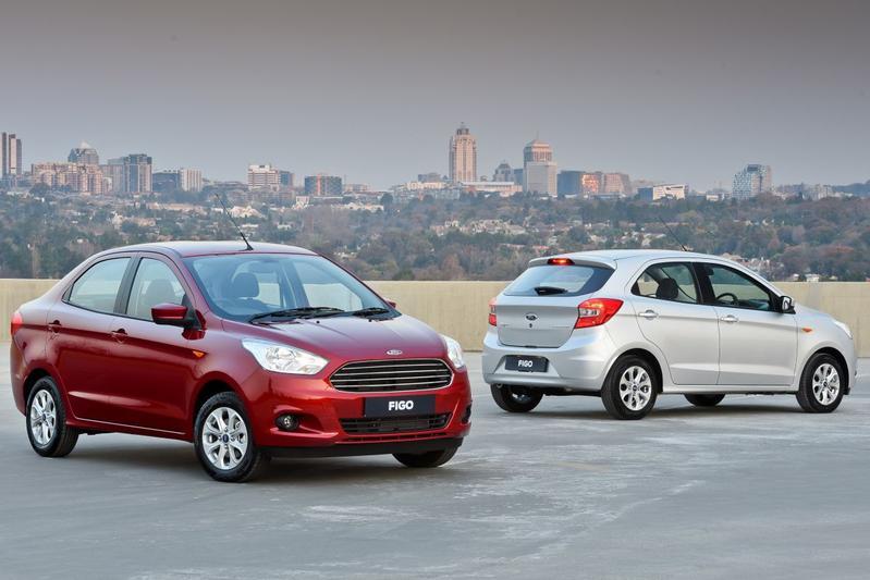 Ford Figo en Figo Aspire