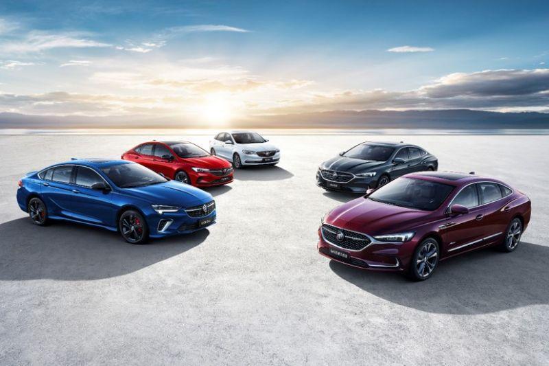 Buick Regal GS, Verano GS, LaCrosse en Excelle GT