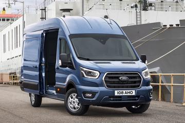 Gefacelifte Ford Transit gepresenteerd