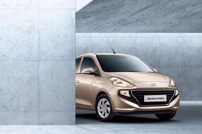 Hyundai toont Santro