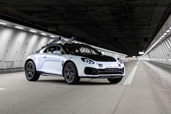 Alpine A110 Sports X Concept