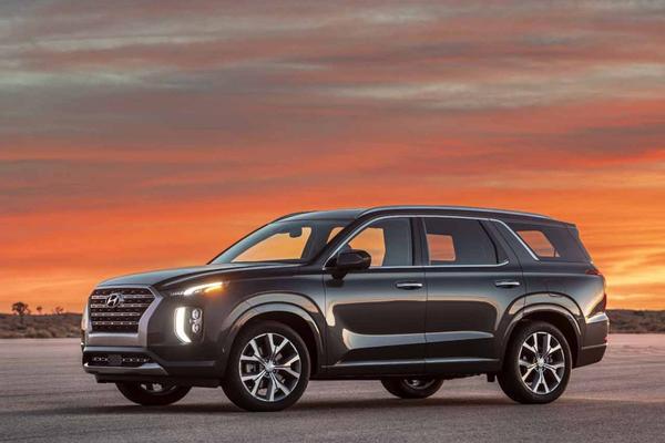 Hyundai Palisade rolt Los Angeles binnen