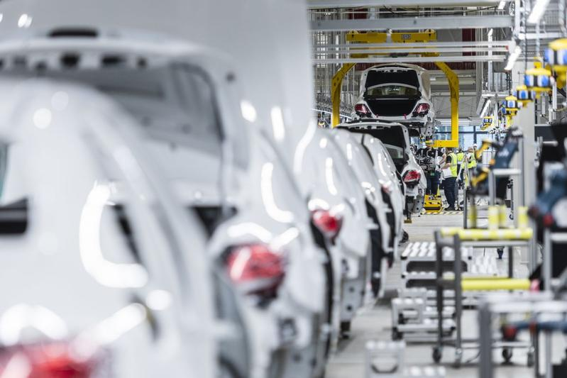 Fabriek Daimler Mercedes-Benz productie