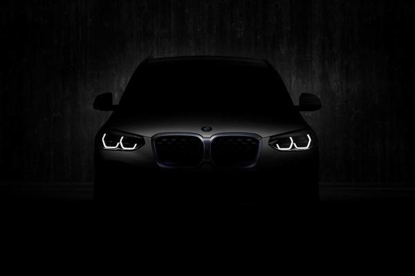 Elektrische BMW iX3 schemert door