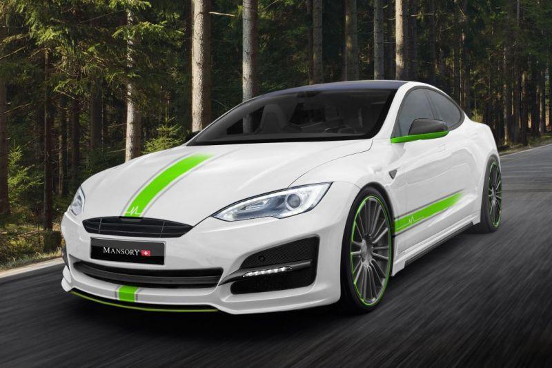 Mansory pakt Tesla Model S bij de lurven