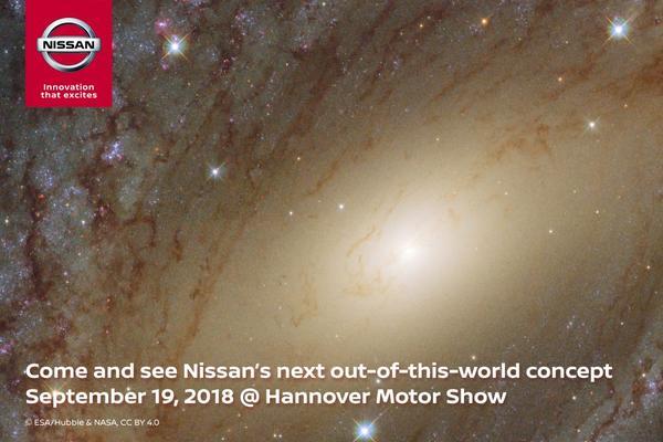 Bijzondere teaser Nissan