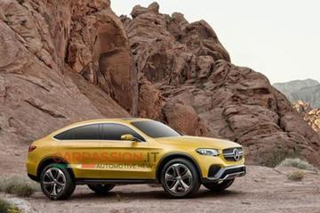 Mercedes GLC Coupé verschijnt te vroeg